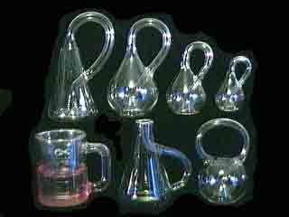 All 7 Klein Bottle shapes
