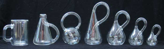 Seven Klein Bottles in a Row!